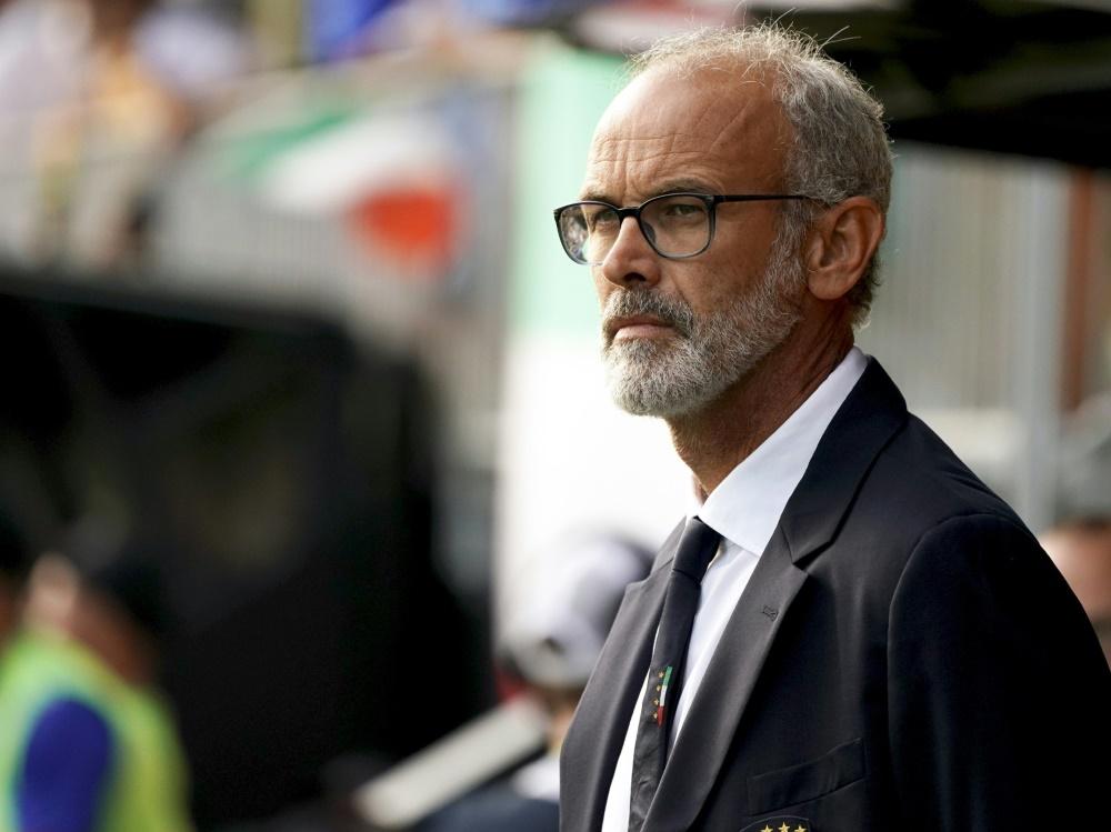 Trainer Nicolato muss auf einige Spieler verzichten. ©SID TIMO AALTO
