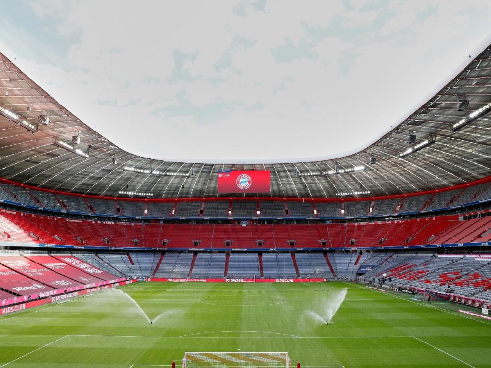 Die Münchener Stadien bleiben weiter leer. ©FIRO/SID