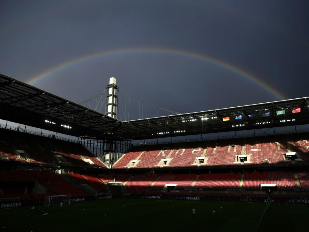 Gegen die Schweiz könnte das Stadion wohl leer bleiben . ©SID INA FASSBENDER