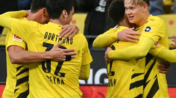 Bvb Gegen Leverkusen 2021