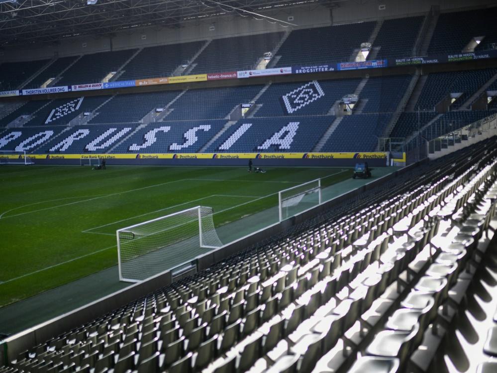 Gegen Real Madrid bleibt der Borussia-Park leer. ©SID INA FASSBENDER