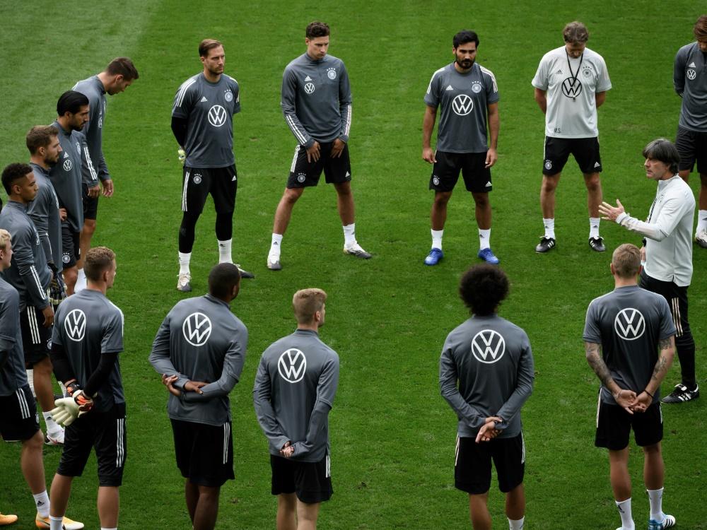 Länderspiel: Mittwoch trifft das DFB-Team auf die Türkei. ©SID FABRICE COFFRINI