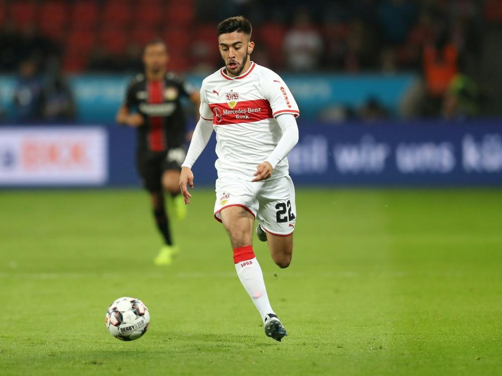 Nicolas Gonzalez könnte nach Verletzung zurückkehren. ©FIRO/SID