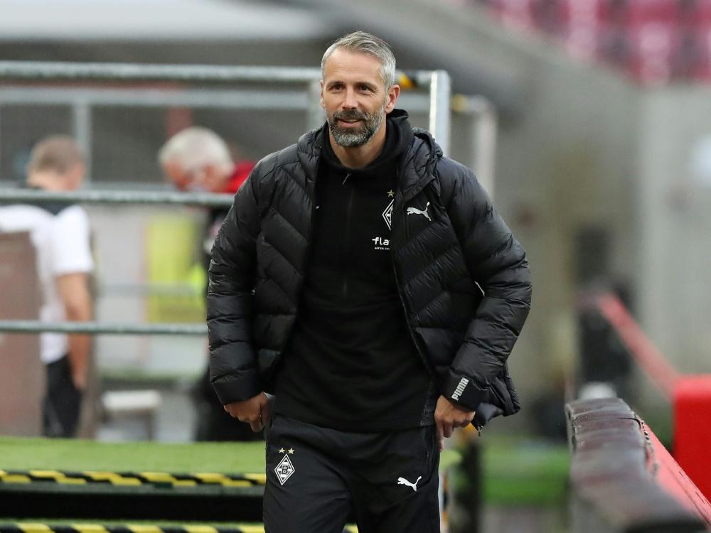 Marco Rose nimmt den Bundestrainer in Schutz. ©FIRO/SID