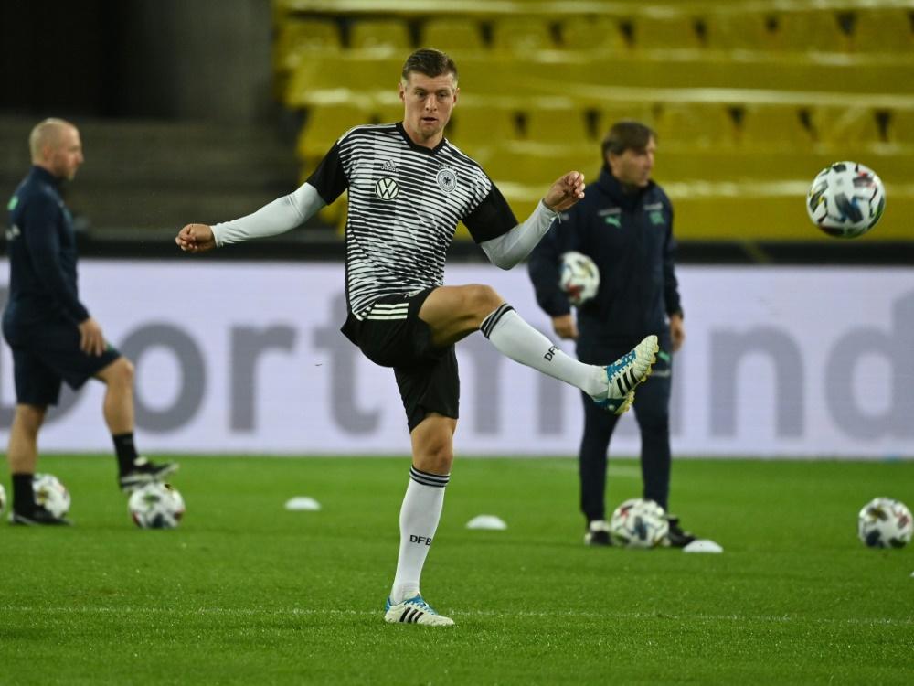 Toni Kroos absolvierte in Köln sein 100. Länderspiel. ©SID INA FASSBENDER