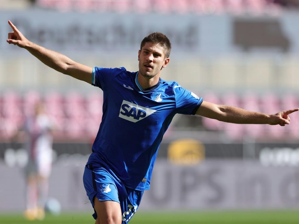 Andrej Kramaric erzielte bereits sechs Saisontore. ©FIRO/SID