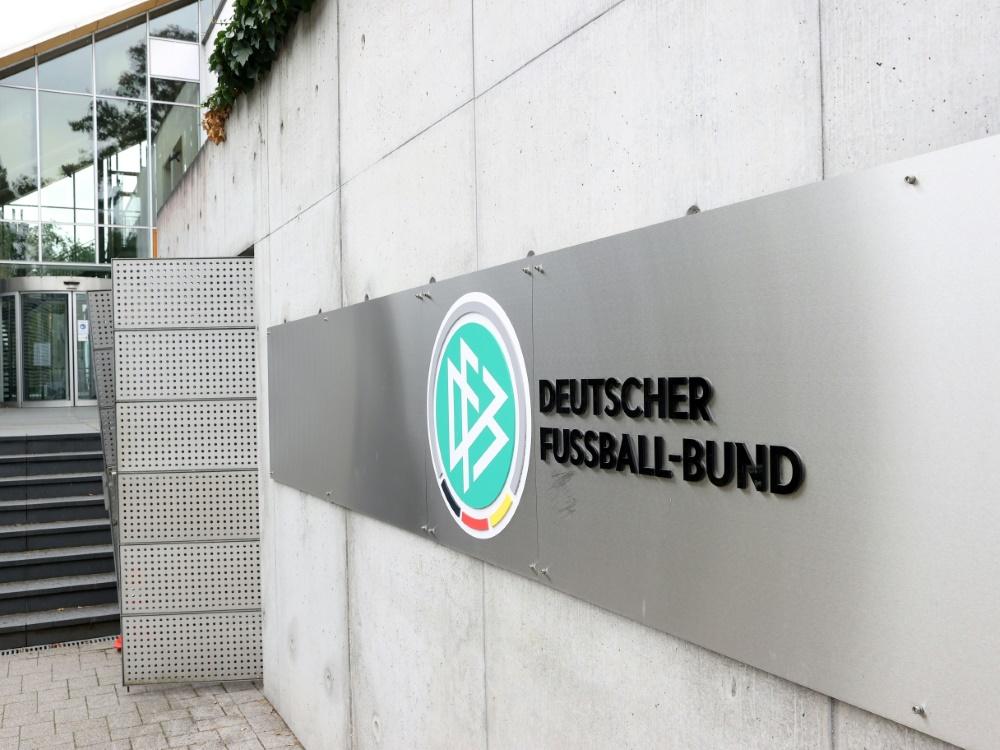Razzia in Geschäftsräumen des DFB. ©FIRO Sportphoto/SID