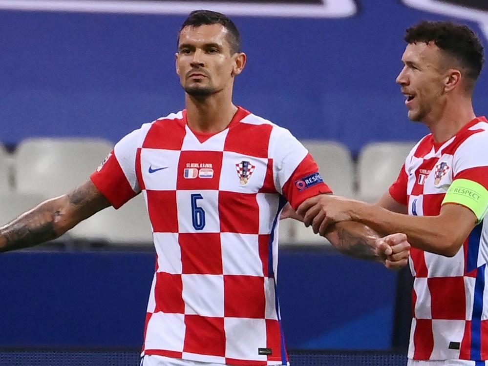 Kroatien gegen Frankreich mit Fans. ©SID FRANCK FIFE