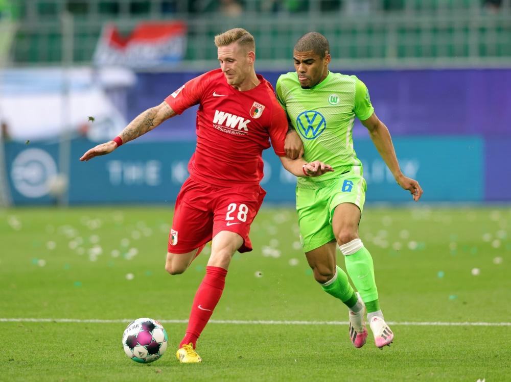 Augsburg und Wolfsburg trennten sich torlos. ©FIRO/SID