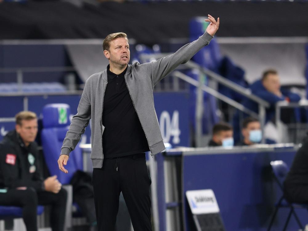 Punktgewinn für Kohfeldt und Werder Bremen. ©FIRO/SID
