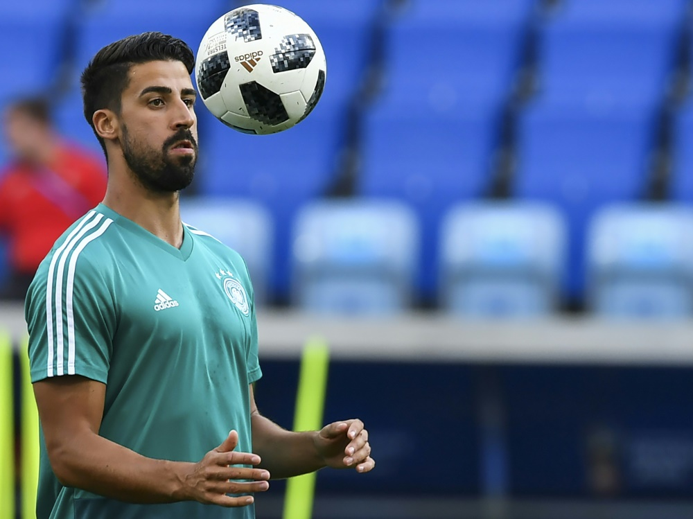 Nicht im Champions-League-Kader von Juve: Sami Khedira. ©SID NELSON ALMEIDA