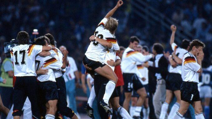 Weltmeisterschaft 1990 Endspiel Deutschland Argentinien