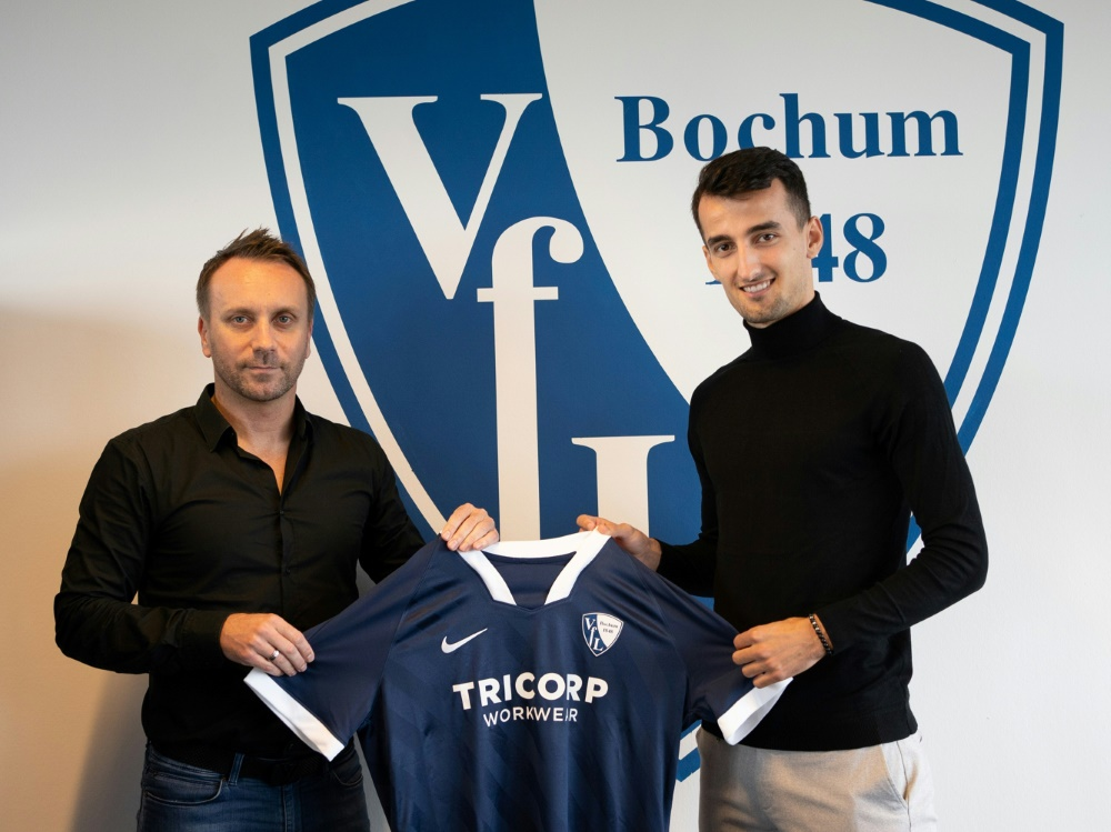 Erhan Masovic (r.) erhält einen Vertrag bis 2023. ©Tim Kramer/VfL Bochum 1848/Tim Kramer/VfL Bochum 1848