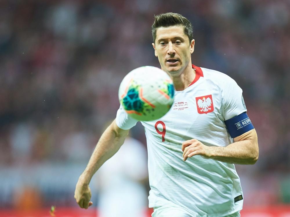 Lewandowski erzielte beim 3:0-Sieg einen Doppelpack. ©SID LUKASZ SZELAG