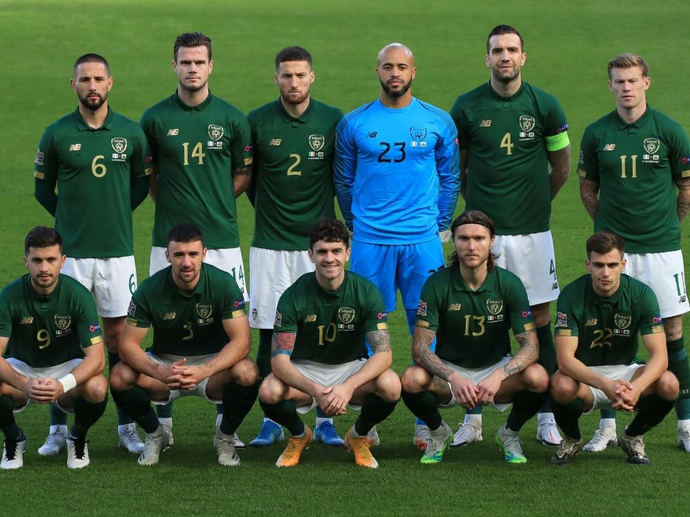 Corona: Test-Chaos bei der irischen Nationalmannschaft. ©SID DONALL FARMER
