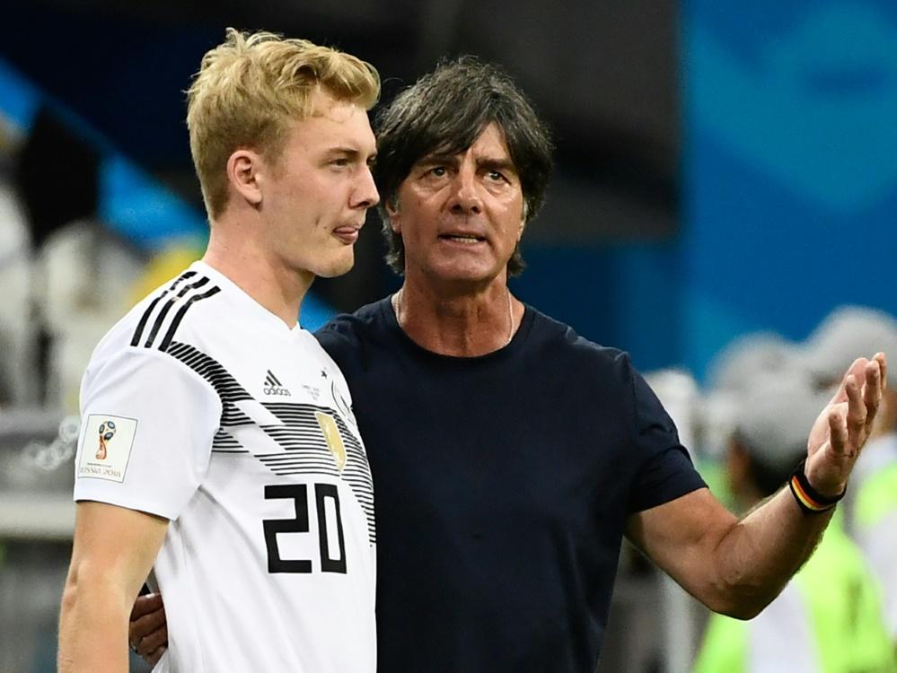 Löw setzt in der Nationalmannschaft auf Julian Brandt. ©SID JONATHAN NACKSTRAND