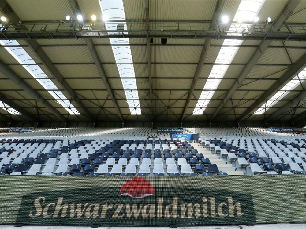 Die Inzidenzzahl im Breisgau lässt 3800 Zuschauer zu. ©RALPH ORLOWSKI/POOL/AFP RALPH ORLOWSKI