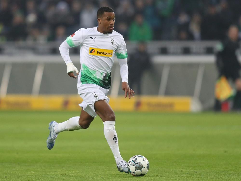 Plea erzielte letzte Saison zehn Tore für Gladbach. ©FIRO/SID