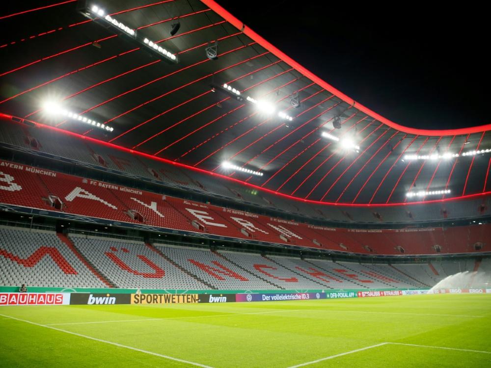 Im Profisport sind Zuschauer im November ausgeschlossen. ©FIRO/SID