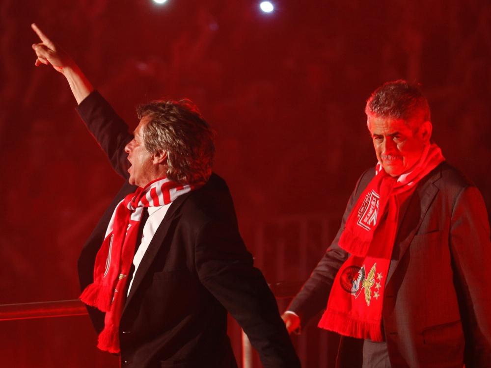 Die Wiederwahl von Vieira (rechts) war eine Überraschung. ©SID JOSE MANUEL RIBEIRO