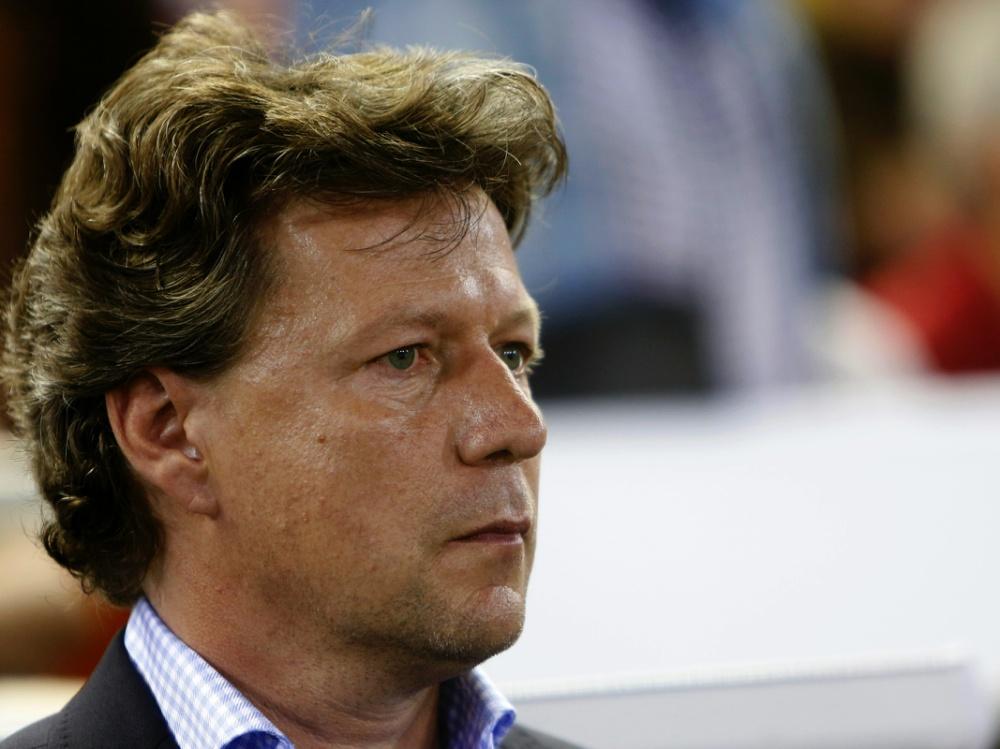 Saibene übernahm das Traineramt nach dem 2. Spieltag. ©SID JOSE JORDAN