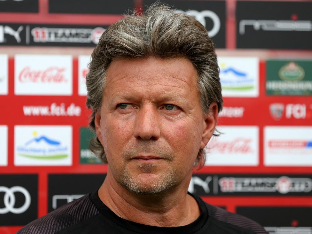 Jeff Saibene wird wohl neuer FCK-Trainer. ©FIRO/SID