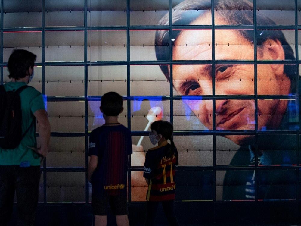Musical über Fußball-Legende Johan Cruyff geplant. ©SID JOSEP LAGO