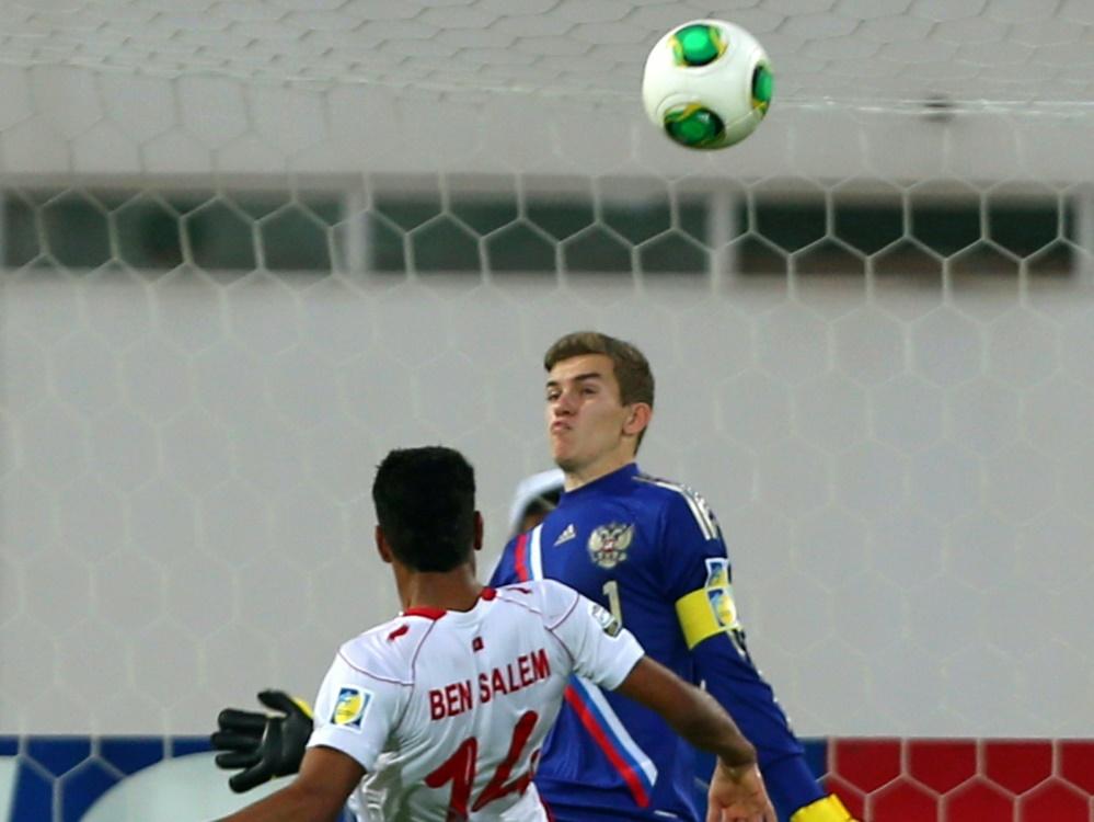 Anton Mitrjuschkin (r.) wechselt zu Fortuna Düsseldorf. ©SID MARWAN NAAMANI
