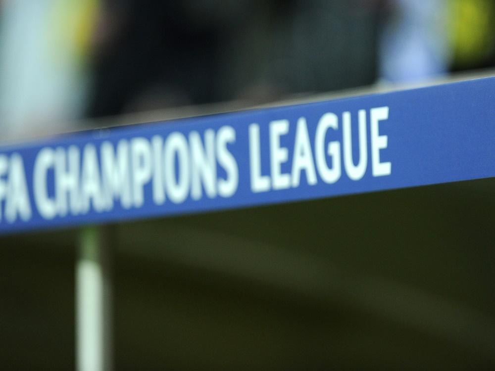 Am 20. Oktober trifft Borussia Dortmund auf Lazio Rom . ©FIRO/SID