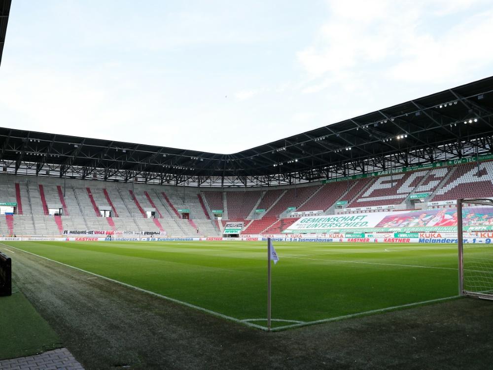 Am Wochenende bleiben die Ränge in Augsburg wieder leer. ©FIRO/SID