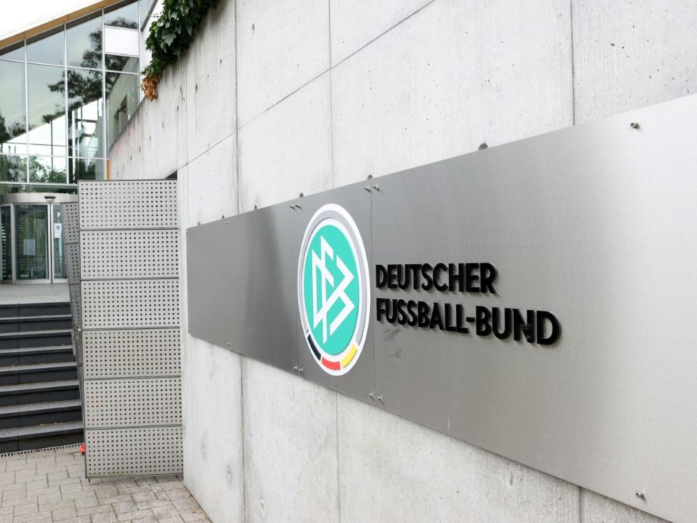 Der DFB sperrt Roßbach für drei Spiele. ©FIRO/SID