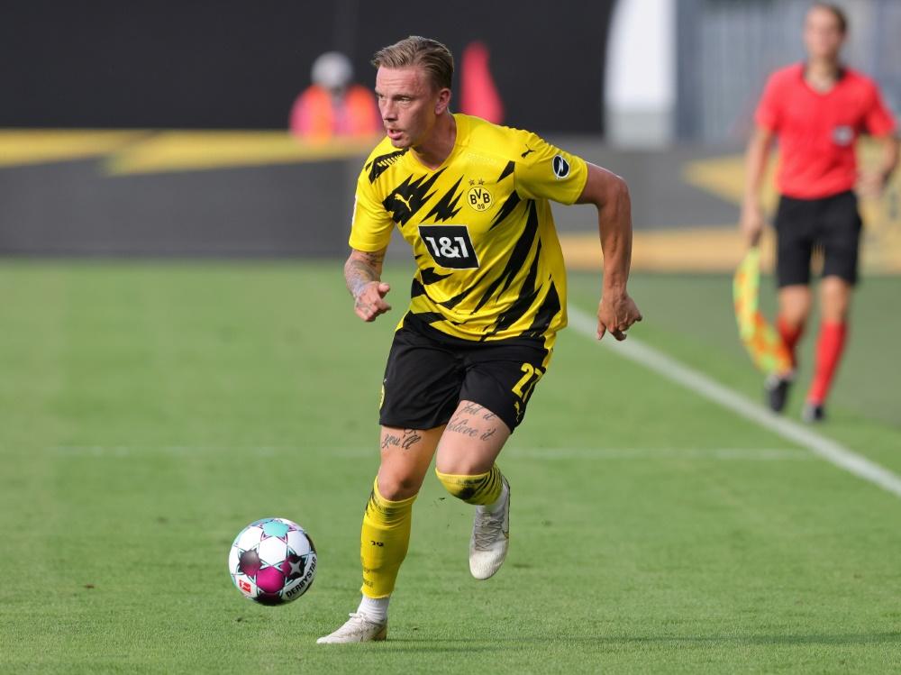 Marius Wolf kommt auf Leihbasis von Borussia Dortmund  . ©FIRO/SID