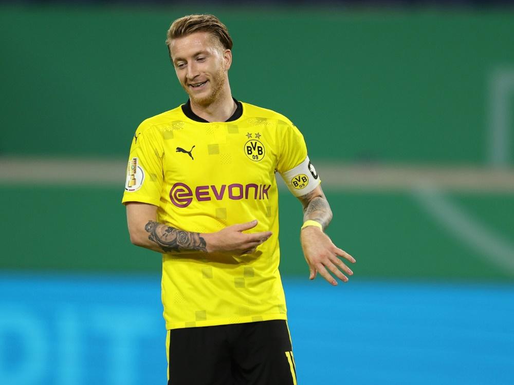 Steht wieder in der Bundesliga-Startelf: Marco Reus. ©FIRO/SID