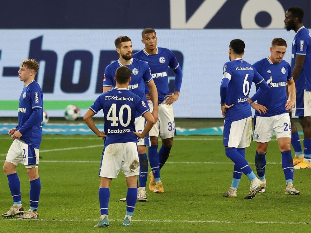 Schalke gewann erneut nicht. ©FIRO/SID