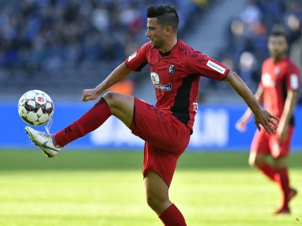 Der SC Freiburg trennt sich von Marco Terrazzino . ©SID JOHN MACDOUGALL