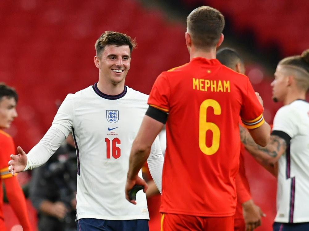Sieg für England gegen Wales. ©SID Glyn KIRK