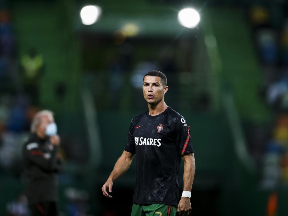 Opfer eines Einbruchs: Cristiano Ronaldo. ©SID CARLOS COSTA