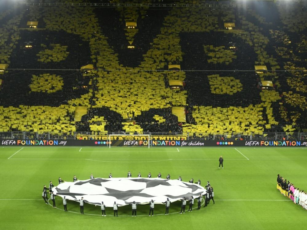 Die UEFA erlaubt Fans bei Champions-League-Spielen. ©SID INA FASSBENDER