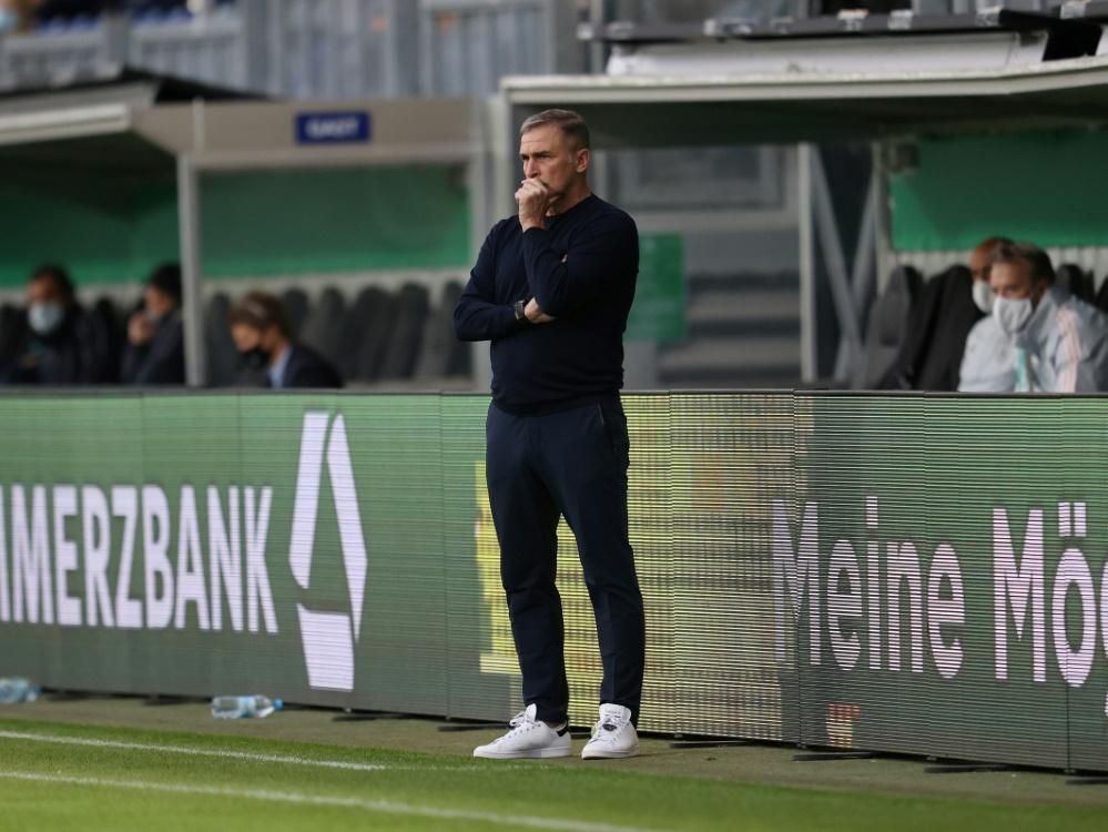 U21-Trainer Kuntz nominiert sieben Spieler nach . ©FIRO/SID
