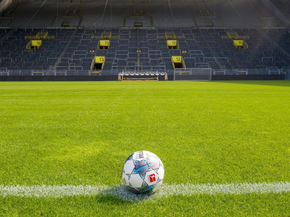 BVB äußert Unverständnis über Zuschauerverbot. ©FIRO Sportphoto/SID