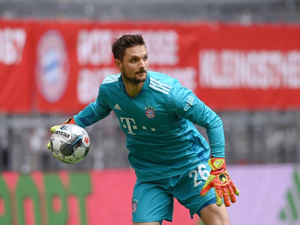 Sven Ulreich steht vor einem Wechsel zum Hamburger SV . ©FIRO/SID