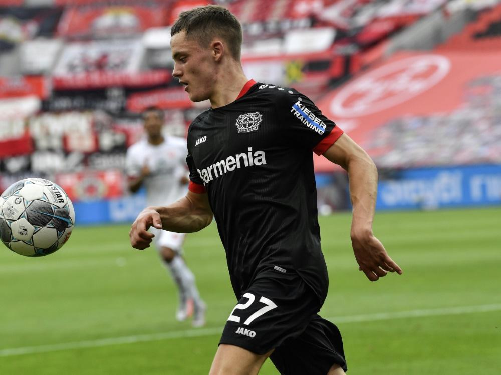 Wirtz ist der jüngste U21-Spieler der DFB-Geschichte. ©SID MARTIN MEISSNER