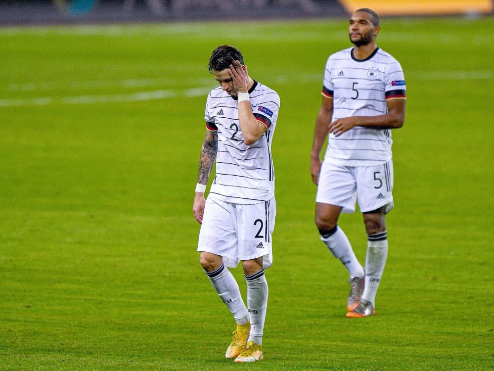 Am Dienstag unterlag die DFB-Elf Spanien 0:6. ©FIRO/SID