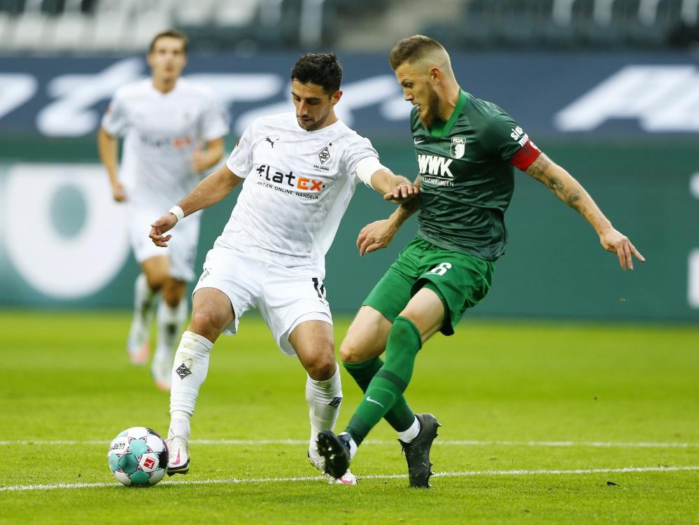 Gladbach spielt Unentschieden gegen Augsburg. ©SID THILO SCHMUELGEN