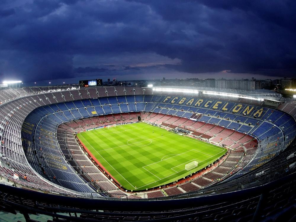 Vor 121 Jahren wurde der FC Barcelona gegründet. ©FIRO/SID