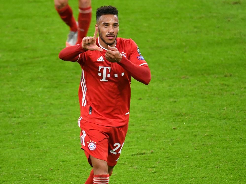FC Bayern: Tolisso wird gegen Bremen fehlen. ©FIRO/SID