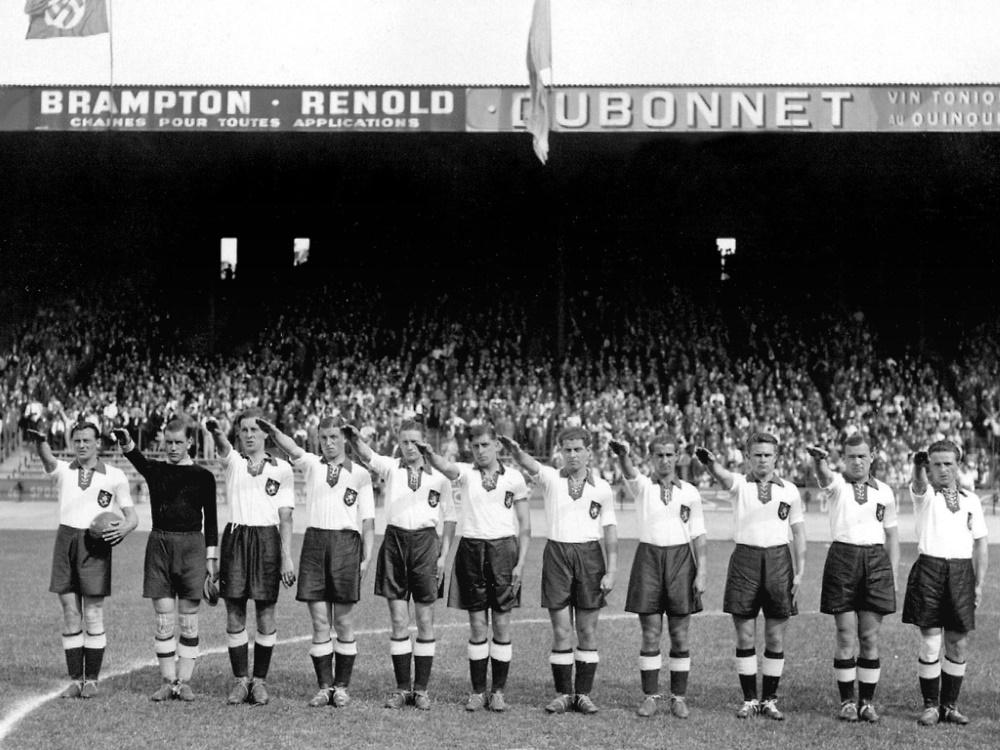 1942 findet das letzte Spiel unter dem Nazi-Regime statt. ©SID STAFF