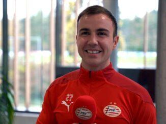 PSV Eindhoven Mario Götze