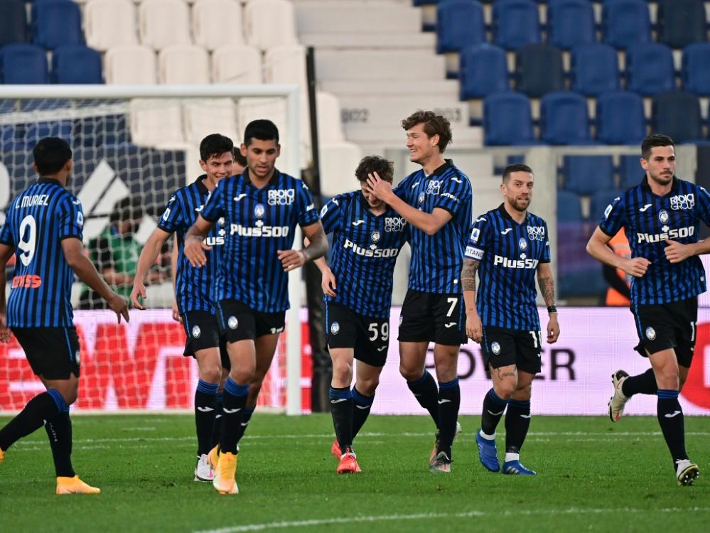 Atalanta Bergamo holt nur einen Punkt bei Spezia. ©SID MIGUEL MEDINA