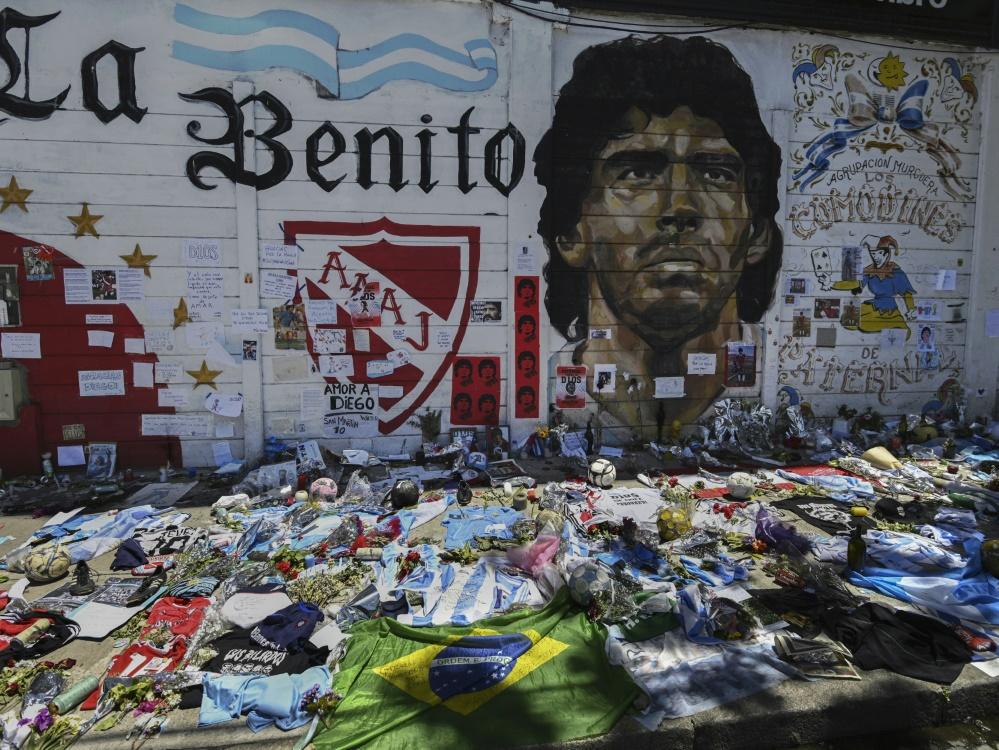 Diego Maradona wurde 60 Jahre alt. ©SID JUAN MABROMATA